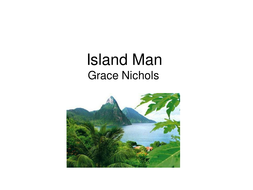 Island Man PowerPoint lesson