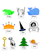 Rhyming Word Activities for First and Second Grade