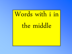 words with middle i