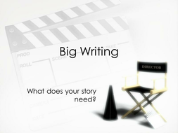 Big Writing Presentation for Stimulus in Lesson