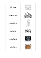 Alternative Spellings of CH Phoneme