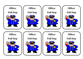 Officer period badges
