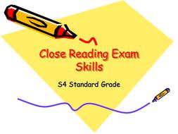Close Reading Exam Skills.ppt