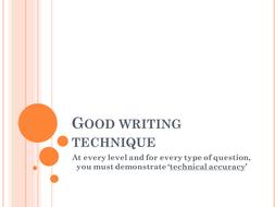 Good writing technique.pptx
