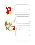 Little Red Riding Hood Speech Bubbles