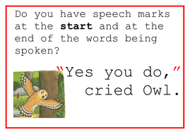 Rules of Speech - Quotations & Commas