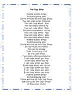 The copy shop poem