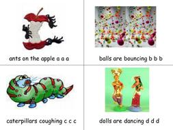 Phonics - Ants On The Apple