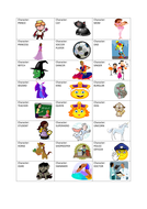 Character; setting; and dilemma cards