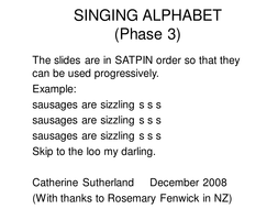 phonics powerpoint phase 3.ppt