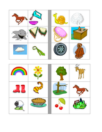 Jolly Phonic digraph bingo game