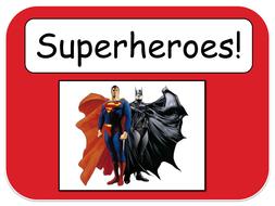 Superhero log book