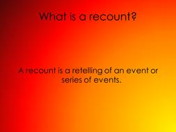 Recount presentation 25.5.10.ppt