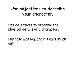 writing_character_description.ppt