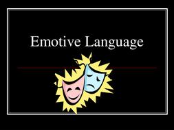 A lesson on using emotive language