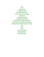 Shape Poems for Christmas