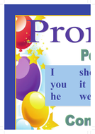 Pronouns - personal; compound and possessive