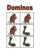 The Gruffalo dominos
