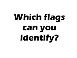 John Agard's Flag poem