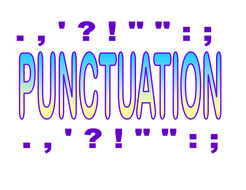Punctuation Display