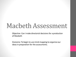 Macbeth Assessment