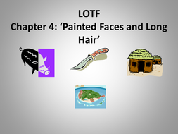 LOTF PAINTED FACES chapter 4.ppt