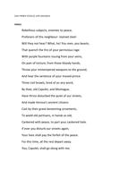Romeo and Juliet- prince's speech