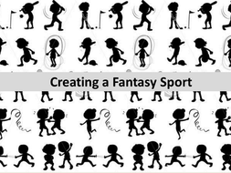 creative writing- invent your own sport