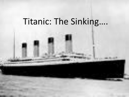 Titanic - the Sinking