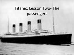 Titanic - The Passengers