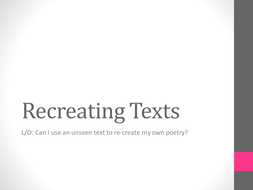 recreating texts[1][1].ppt