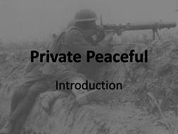 Private Peaceful - 1st lesson