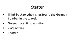 description of the man in the woods ch 2.ppt