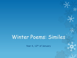 Winter_Poems._Similes[1].ppt