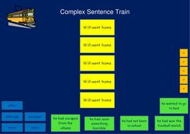 Complex Sentence Train