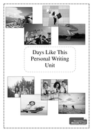 Personal Writing - Days Like This