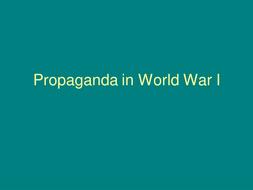 Propaganda in Private Peaceful
