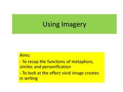Descriptive Writing - Imagery