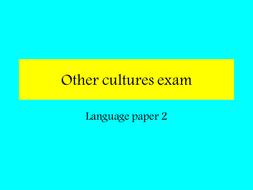 Other Cultures Poetry Quiz