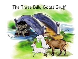 Three Billy Goats Gruff playscript