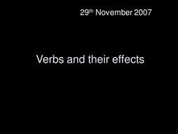 Stone cold whole lesson on writing diary with verb