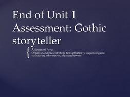 Gothic Horror (Close Reading Activities)