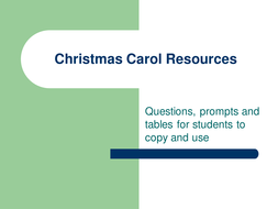 Christmas Carol Resources.ppt