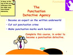Punctuation presentation.ppt