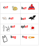 Rhyme & Phonics snap or memory game