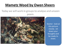 L_2_and_3_Mametz_Wood_by_Owen_Sheers_unseen_poem.ppt