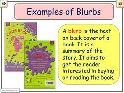 Blurbs