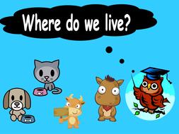 animal homes where do we live ppt.ppt