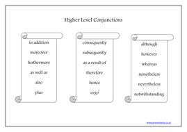 Higher Level Conjunctions.doc
