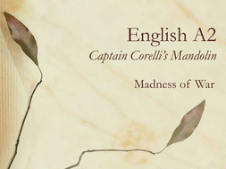 Captain Corelli's Mandolin: Madness of War 1